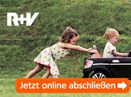 R+V KFZ-Versicherung mit Antragstrecke