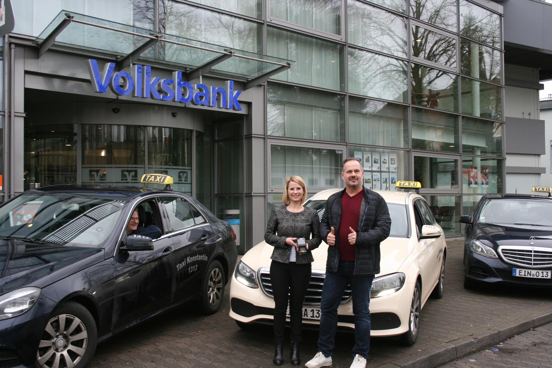 Taxi Konstantin führt Kartenzahlung ein